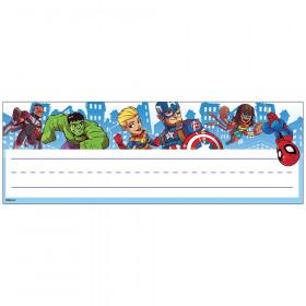 Marvel Super Hero Adventure Name Plates - Self Adhesive