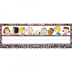 Peanuts Classic Characters Self Adhesive Name Plates