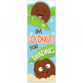 Coconut Bookmarks Scented
