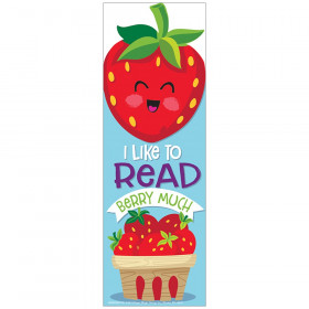 Strawberry Bookmarks - Scented