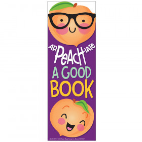 Peach Bookmarks Scented