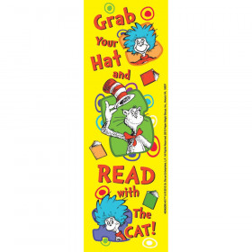 Dr Seuss Grab Your Hat Bookmarks