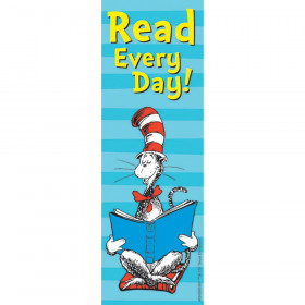 Cat in the Hat Read Every Day Bookmarks, 36/pkg