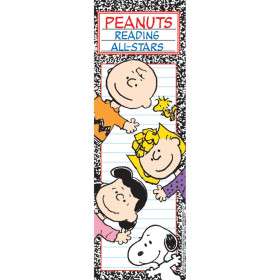Peanuts Reading All Stars Bookmarks