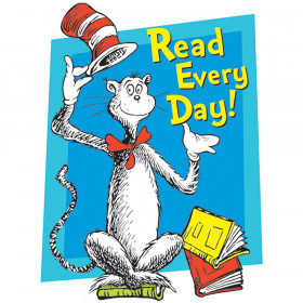 Cat In The Hat Read Every Day Window Cling