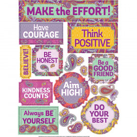 Positively Paisley Window Clings, 16 Pieces