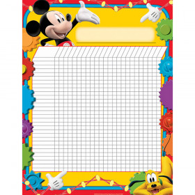 Mickey Mouse Clubhouse Incentive Chart 17X22 Poster