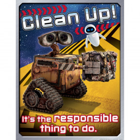 Wall-E Clean Up 17X22 Poster