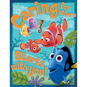 """Finding Nemo Caring for Others 17"""" x 22"""" Poster"""