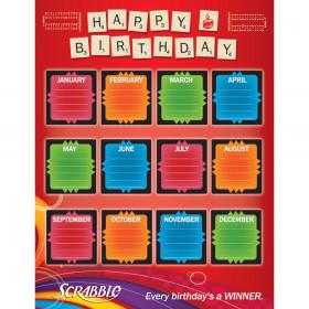 Scrabble Birthday 17X22 Poster