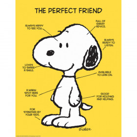 "Peanuts The Perfect Friend 17"" x 22"" Poster"