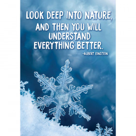 Look Deep Into Nature Poster 13X19