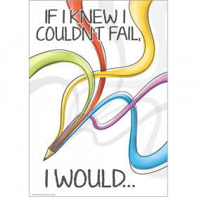 If I Knew I Couldnt Fail 13X19 Posters