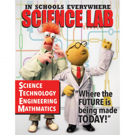 Muppets Science Lab Poster