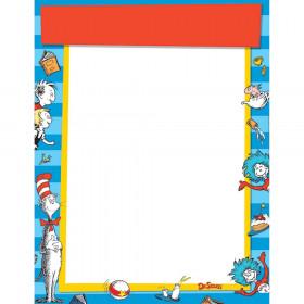 Dr Seuss Standard Welcome Blank Chart