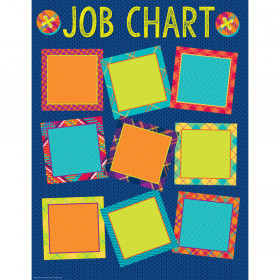 Plaid Attitude Job Chart 17X22