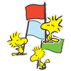 Peanuts Woodstock Asstd Paper Cut-Outs, 36/pkg