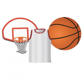 Basketball Assorted Cut Outs