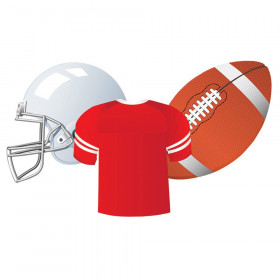 Football Assorted Cut Outs