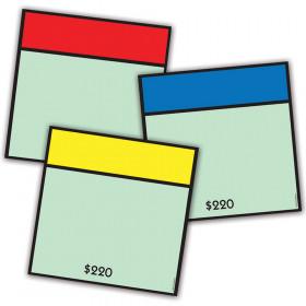 Monopoly Asst Paper Cut Outs