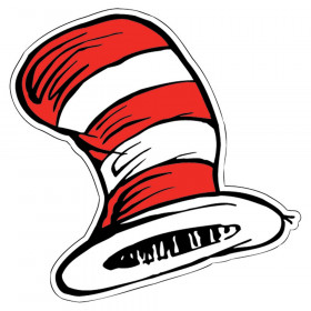 The Cat in the Hat Hats Paper Cut-Outs, 36/pkg