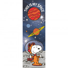 Peanuts NASA This Is My Space Bookmarks, Pack of 36