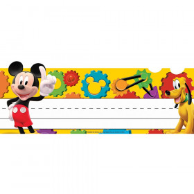 Mickey Mouse Clubhouse Mickey Gears Tented Name Plates