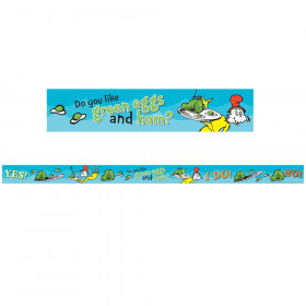 Dr Seuss - Green Eggs And Ham Deco Trim