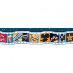 Movie Film Die Cut Deco Trim