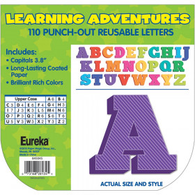 Learning Adventure 4In Deco Letters