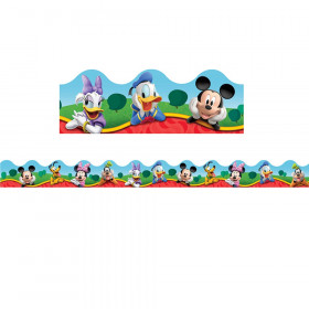 Mickey Mouse Clubhouse Characters Deco Trim, 37 Feet