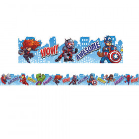 Marvel City Scape Decor Trim Xtra Wide Die Cut