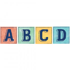 Confetti Splash Deco Letters Blocks