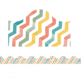 Confetti Splash Chevron Deco Trim
