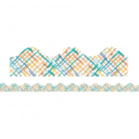 Confetti Splash Crosshatch Deco Trim