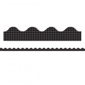 Simply Sassy Black Grid Deco Trim