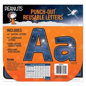 Peanuts NASA Deco Letters