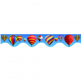 Deco Trims Hot Air Balloon