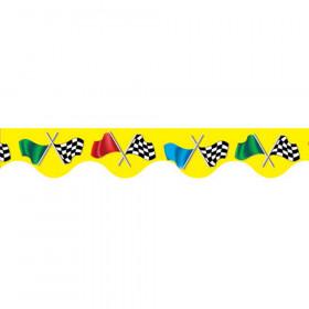 Deco Trims Checkered Flag