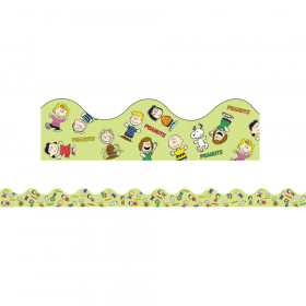 Peanuts Gang Scalloped Deco Trim