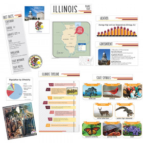 State Bulletin Board Set Illinois