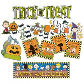 Peanuts Halloween Mini Bulletin Board Sets