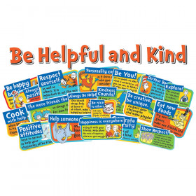 Dr Seuss Be Kind And Helpful Bulletin Board Set
