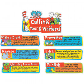Dr Seuss Writing Tips Mini Bulletin Board Set