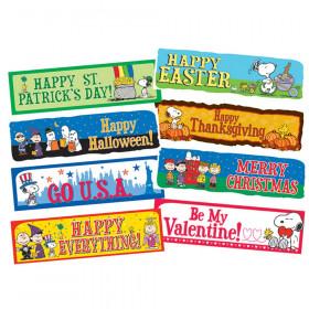 Peanuts Year Of Holidays Mini Bulletin Board Set