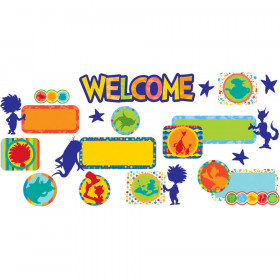 Dr Seuss Spot On Seuss Welcome Set Mini Bulletin Board Set