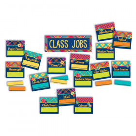 Plaid Atttude Class Jobs Mini Bb St