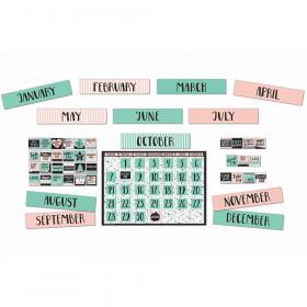 Simply Sassy Calendar Bulletin Board Set