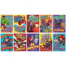 Marvel Motivational Poster Set Bulletin Board Set, 10 Posters