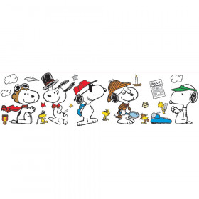 Peanuts Year Round Snoopy Poses Bulletin Board Set